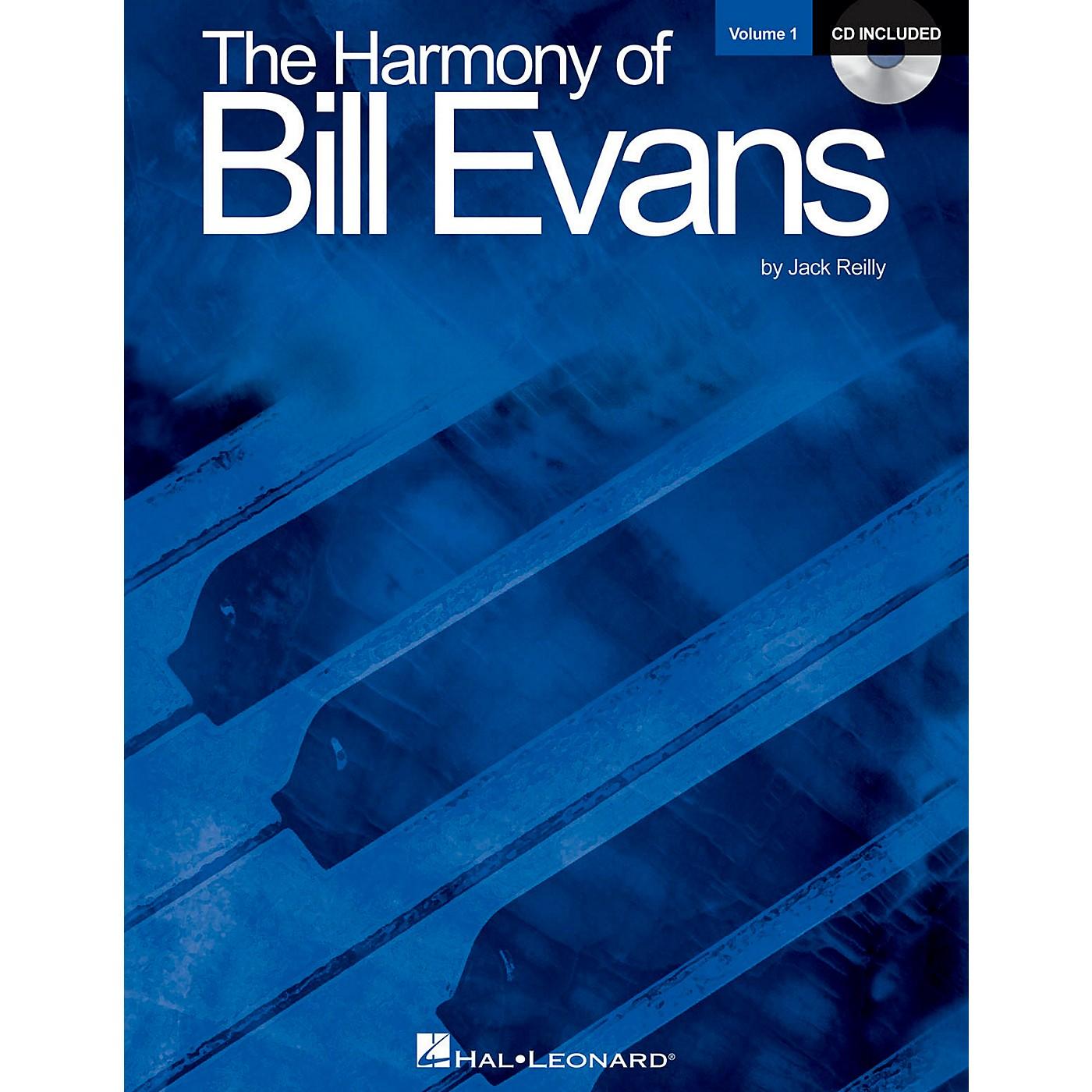 Hal Leonard Harmony Of Bill Evans - Volume 1 (Book/CD Edition) thumbnail