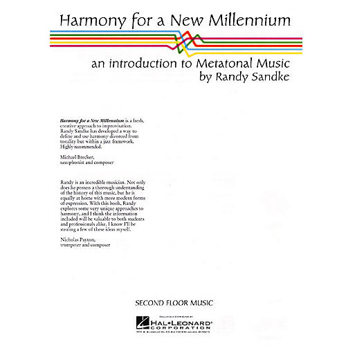 Second Floor Music Harmony for a New Millennium (An Introduction to Metatonal Music) Book Series Written by Randy Sandke thumbnail