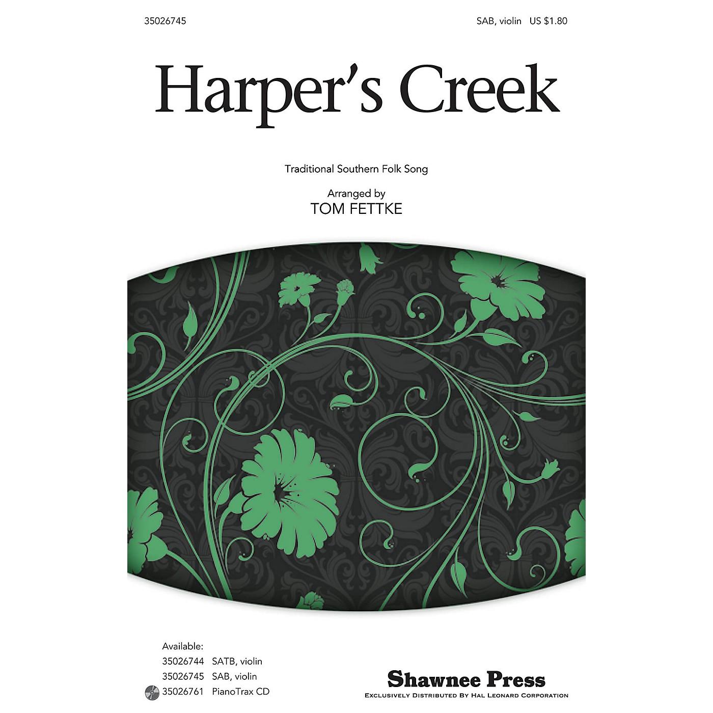 Shawnee Press Harper's Creek SAB arranged by Tom Fettke thumbnail