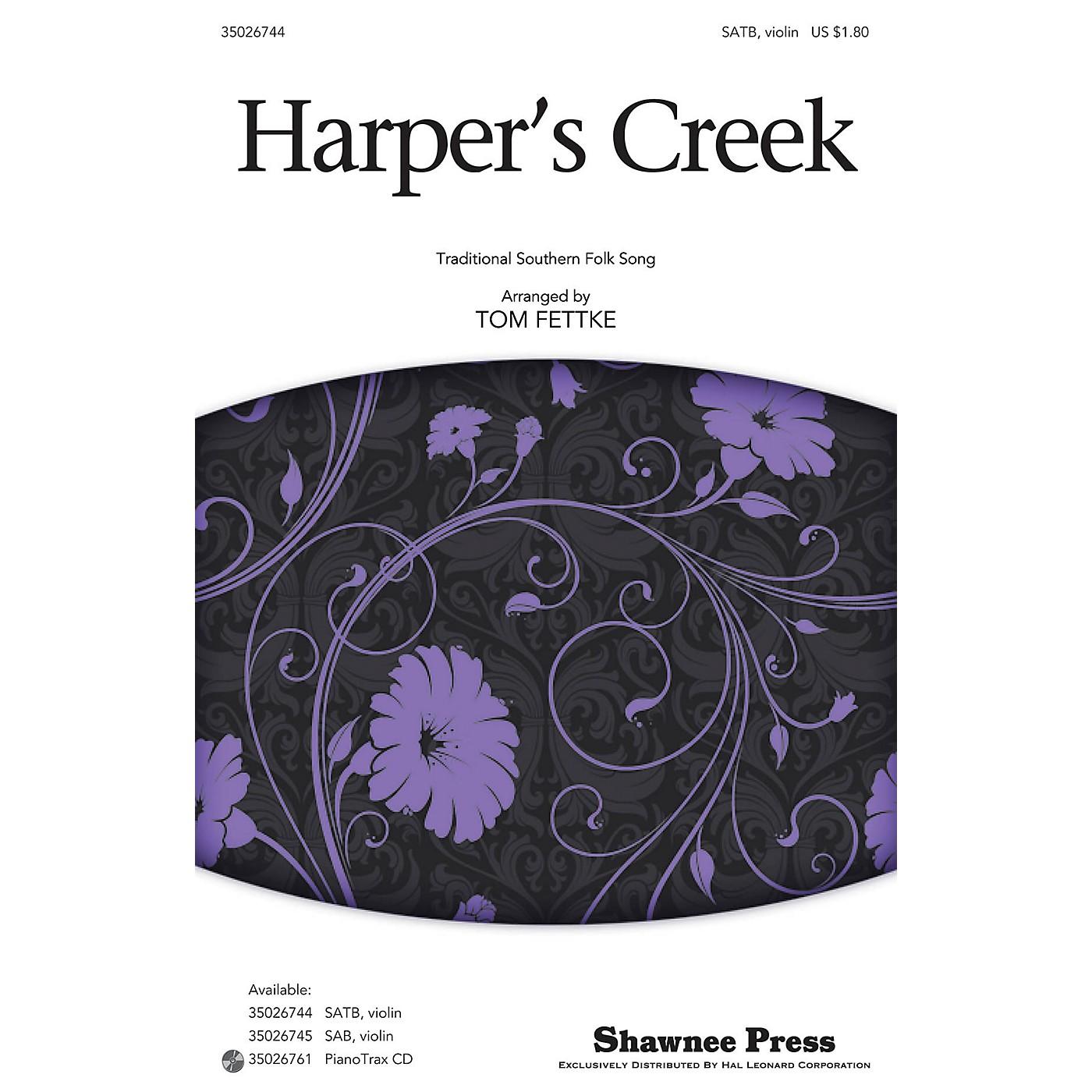 Shawnee Press Harper's Creek SATB arranged by Tom Fettke thumbnail