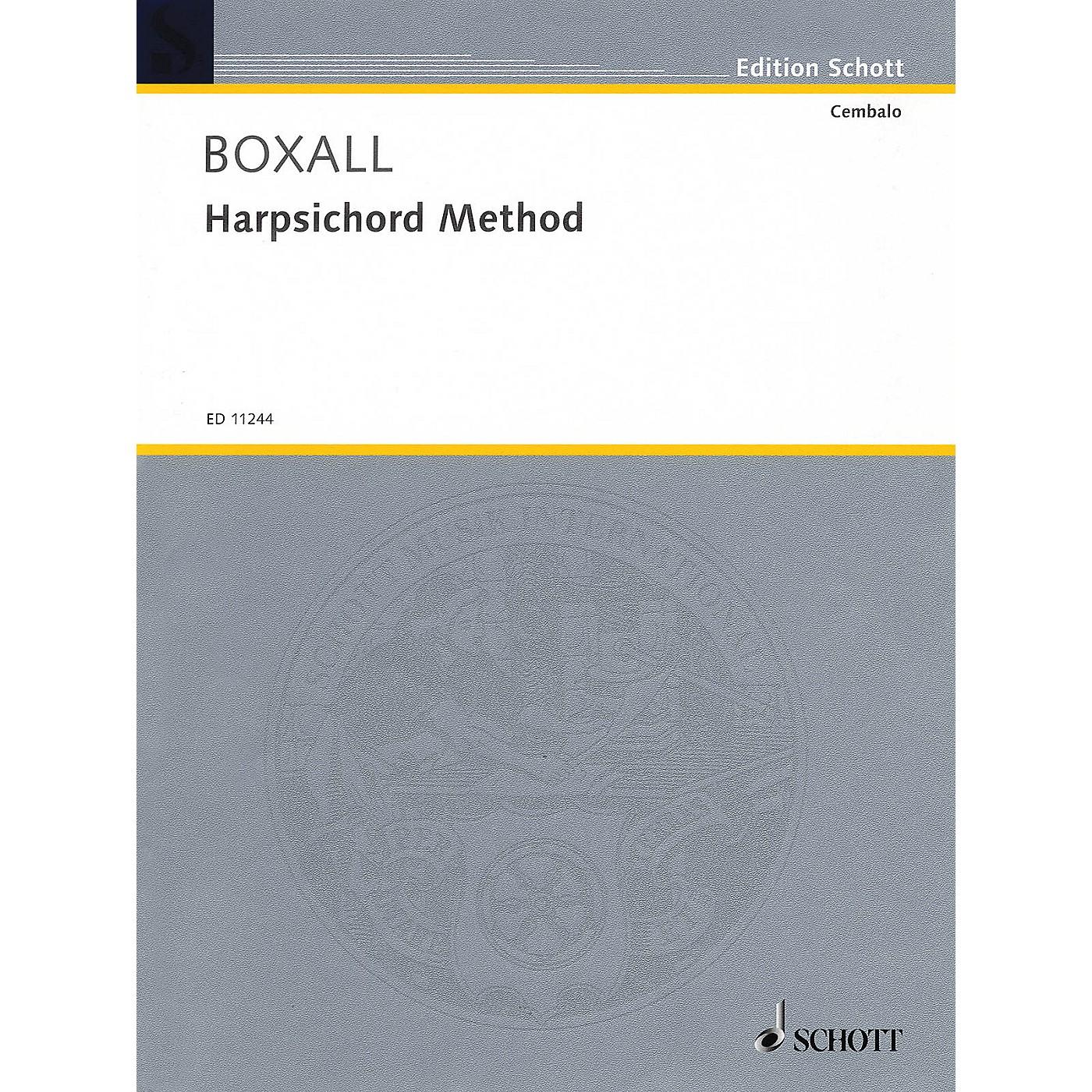Schott Harpsichord Method (for Harpsichord or Spinet) Schott Series Softcover thumbnail