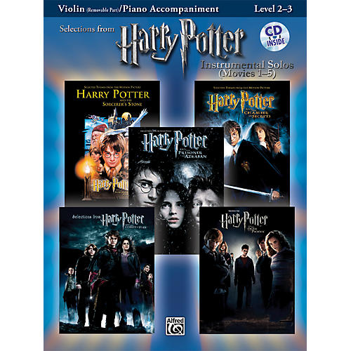 Alfred Harry Potter Instrumental Solos - Movies 1-5-thumbnail