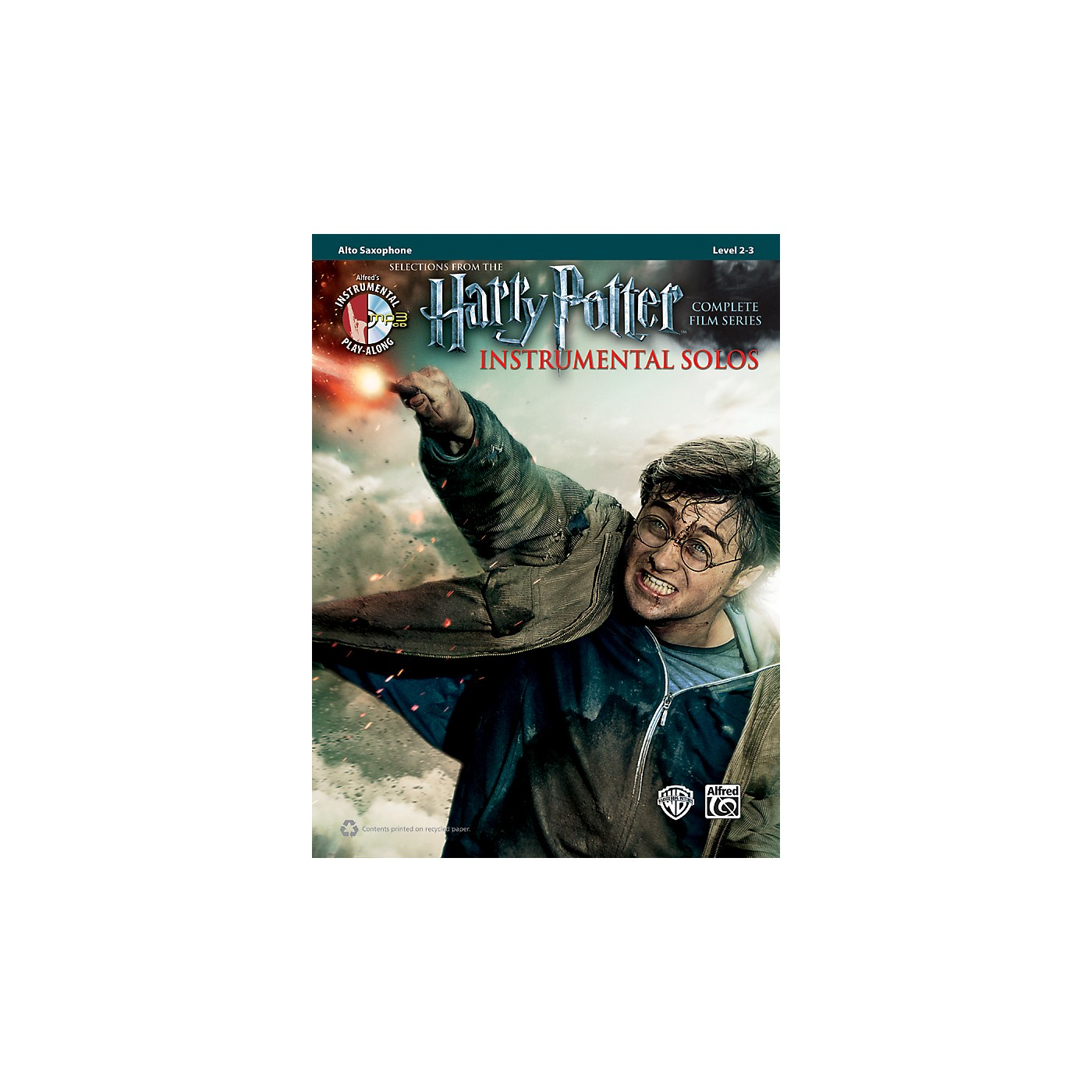 Alfred Harry Potter Instrumental Solos Alto Sax - Book/CD thumbnail