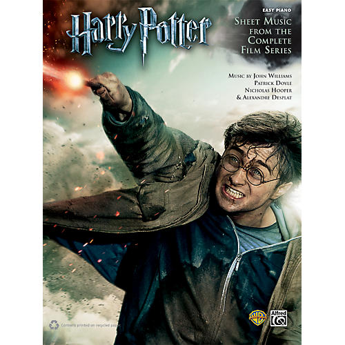 Alfred Harry Potter Sheet Music From The Complete Film Series Easy Piano Book-thumbnail