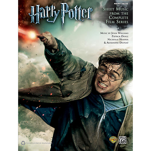 Alfred Harry Potter: Sheet Music from the Complete Film Series Piano thumbnail