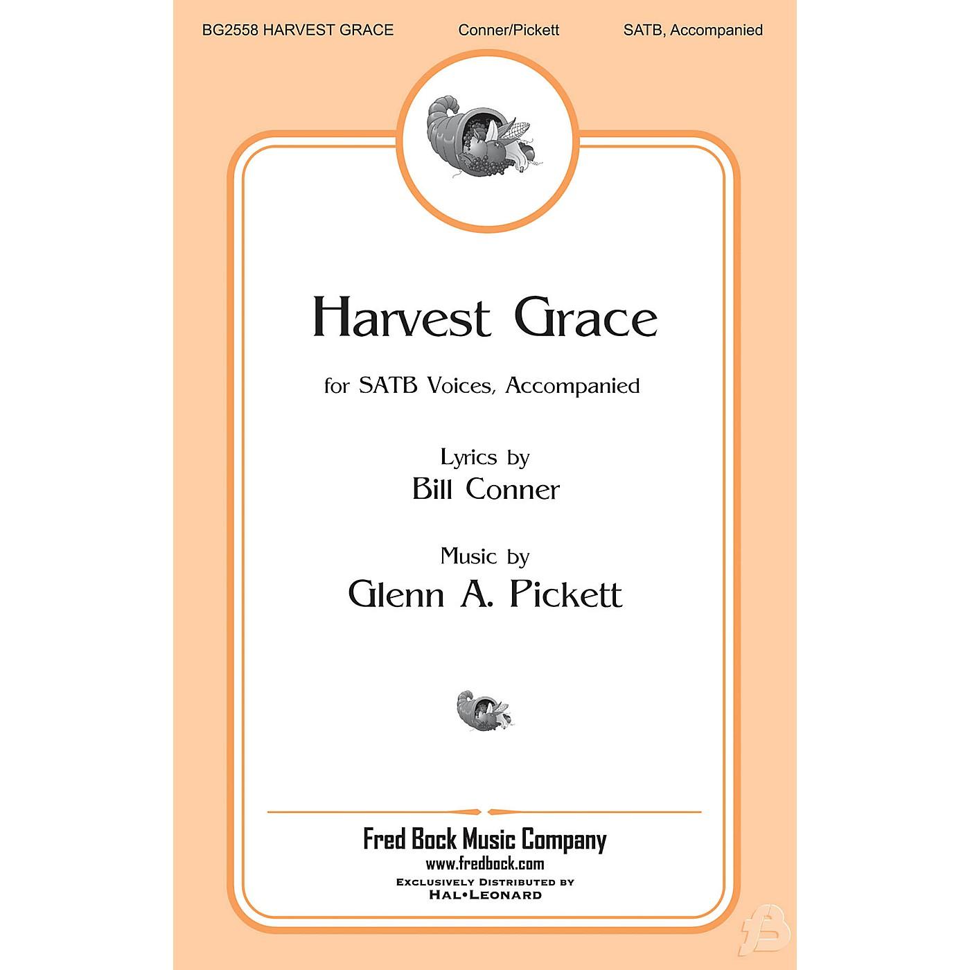 Fred Bock Music Harvest Grace SATB composed by Glenn Pickett thumbnail