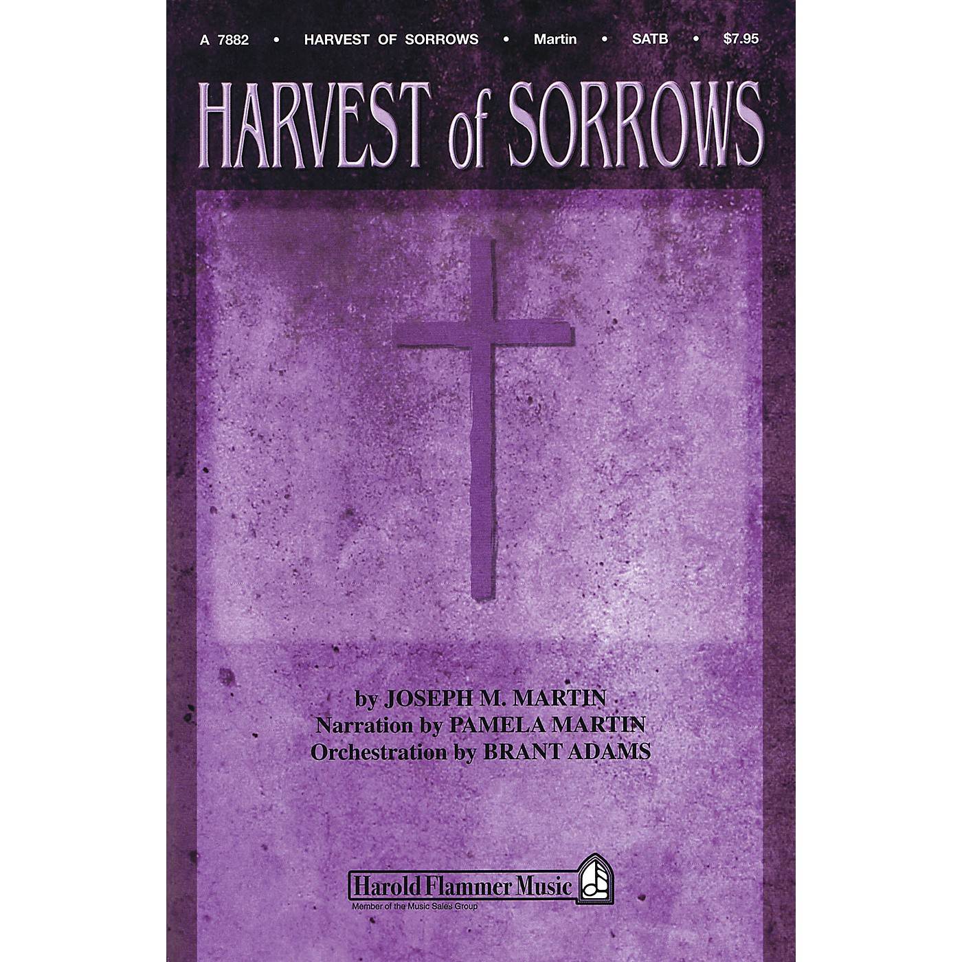 Shawnee Press Harvest of Sorrows Listening CD Composed by Joseph M. Martin thumbnail