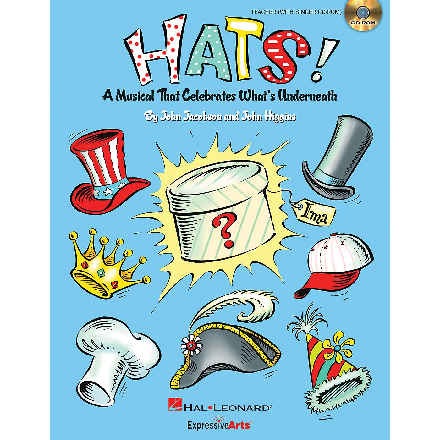 Hal Leonard Hats! (A Musical That Celebrates What's Underneath!) Preview Pak Composed by John Jacobson thumbnail