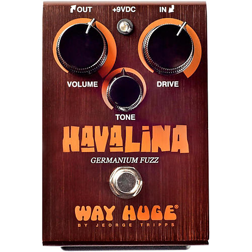 Way Huge Electronics Havalina Germanium Fuzz Guitar Effects Pedal thumbnail