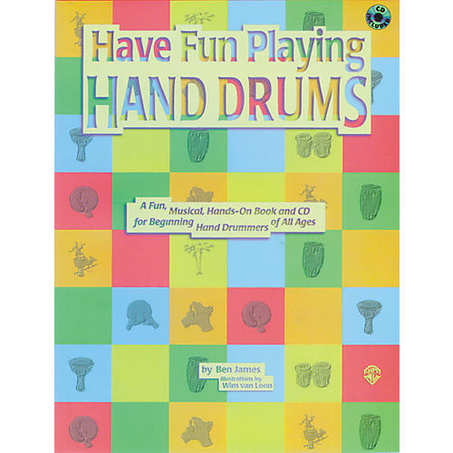 Alfred Have Fun Playing Hand Drums (Book/CD) thumbnail