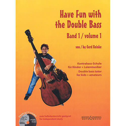 Bote & Bock Have Fun with the Double Bass Series Softcover with CD by Gerd Reinke thumbnail