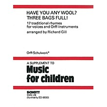 Schott Have You Any Wool? Three Bags Full! Schott Series
