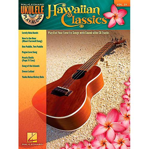 Hal Leonard Hawaiian Classics - Ukulele Play-Along, Vol. 21 (Book/CD) thumbnail
