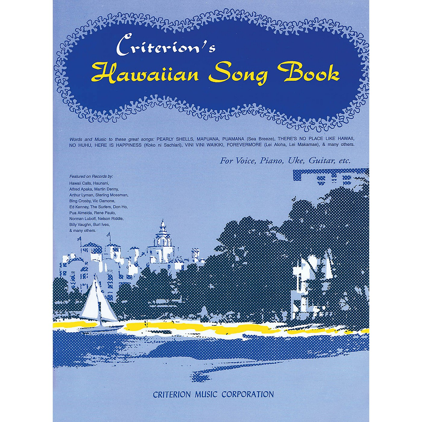 Criterion Hawaiian Song Book Criterion Series Softcover thumbnail