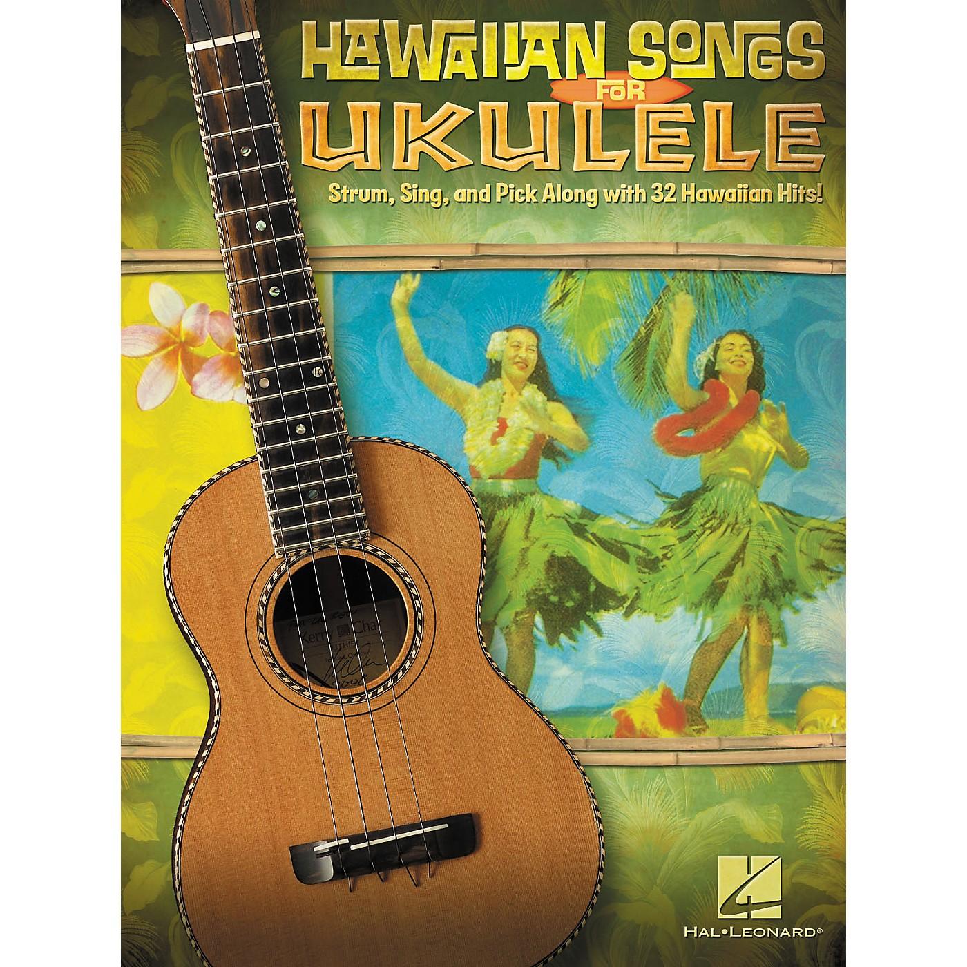 Hal Leonard Hawaiian Songs For Ukulele thumbnail