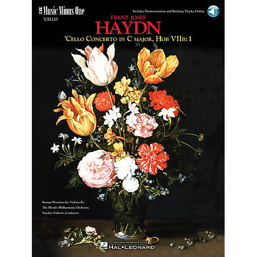 Music Minus One Haydn - Violoncello Concerto in C Major, HobVIIb:1 Music Minus One Softcover with CD by Roman Wiszniowski thumbnail