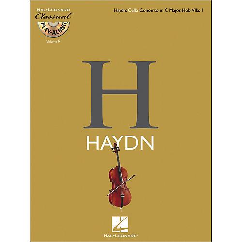 Hal Leonard Haydn: Cello Concerto In C Major, Hob. Viib: 1 Classicalplay-Along Book/CD Vol. 9 thumbnail