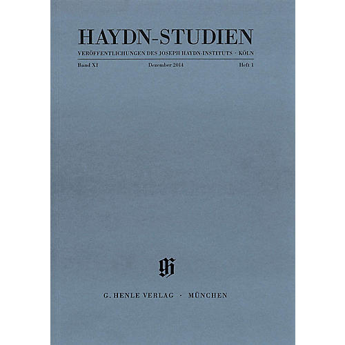 G. Henle Verlag Haydn Studien Series - Series II, Volume 1, December 2014 Henle Periodicals Softcover by Josef Haydn thumbnail