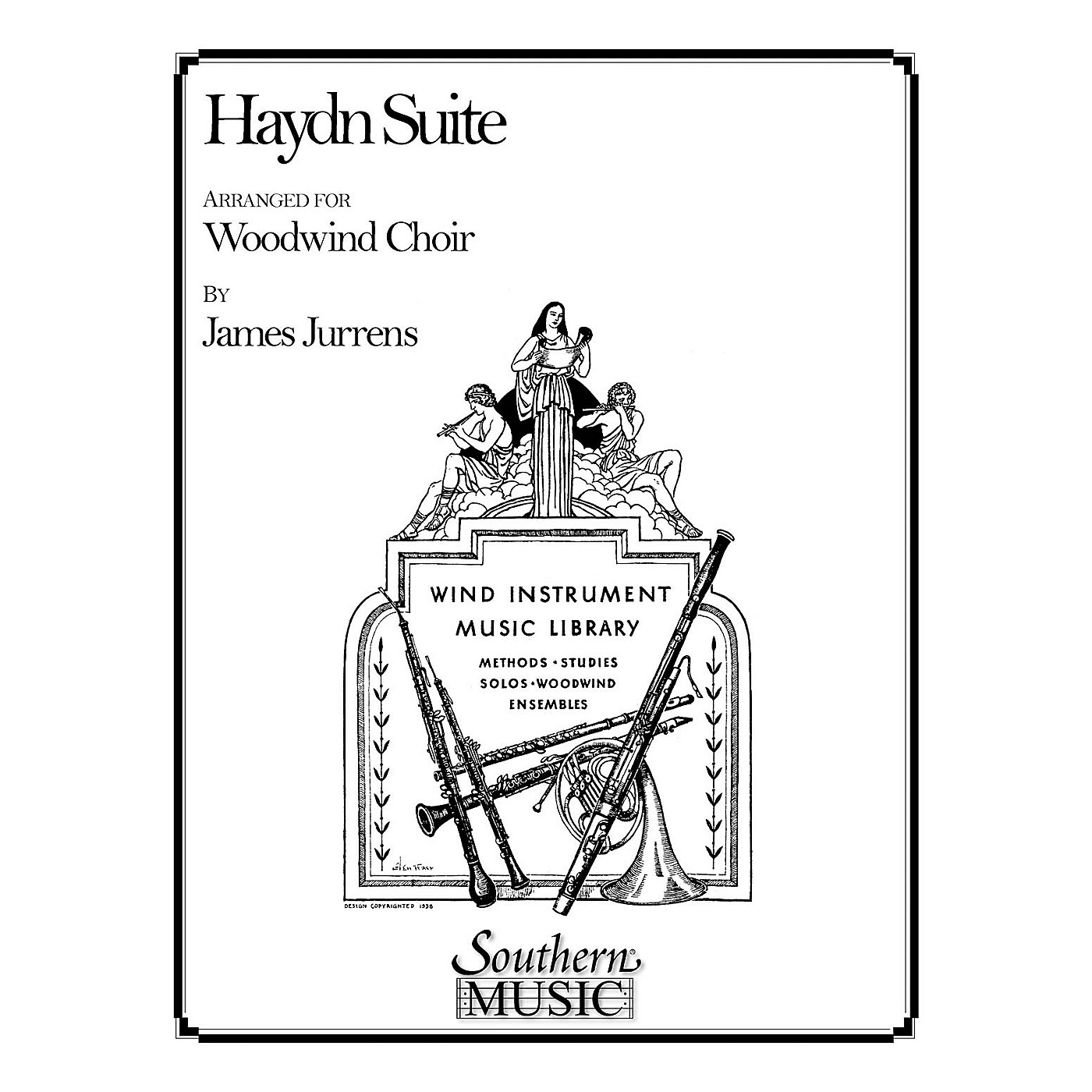 Southern Haydn Suite (Woodwind Choir) Southern Music Series Arranged by James Jurrens thumbnail