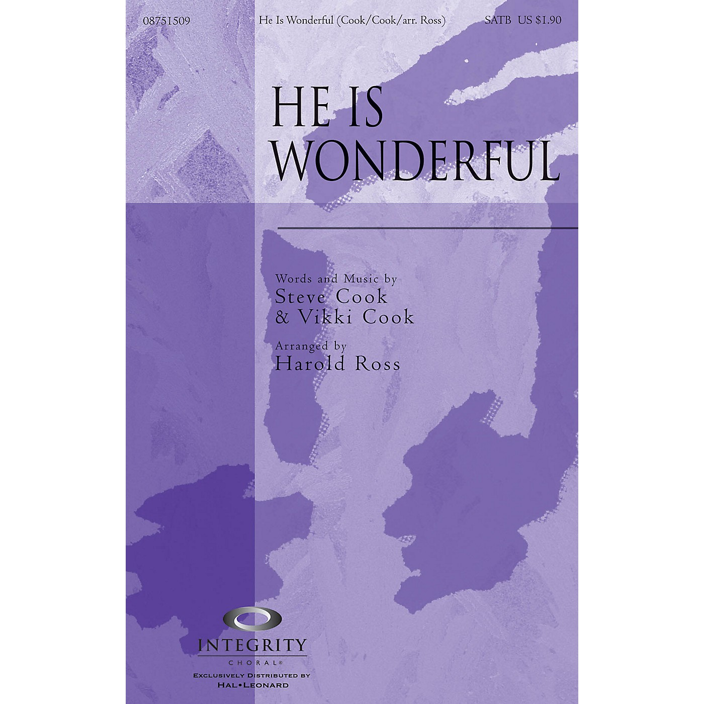 Integrity Choral He Is Wonderful CD ACCOMP Arranged by Harold Ross thumbnail