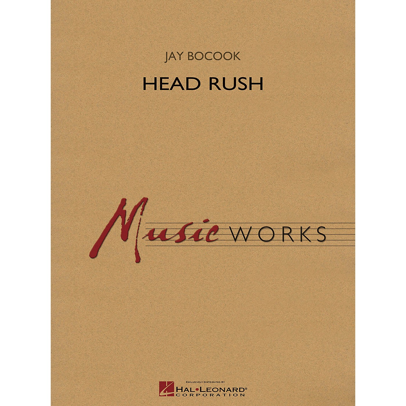 Hal Leonard Head Rush Concert Band Level 5 Composed by Jay Bocook thumbnail