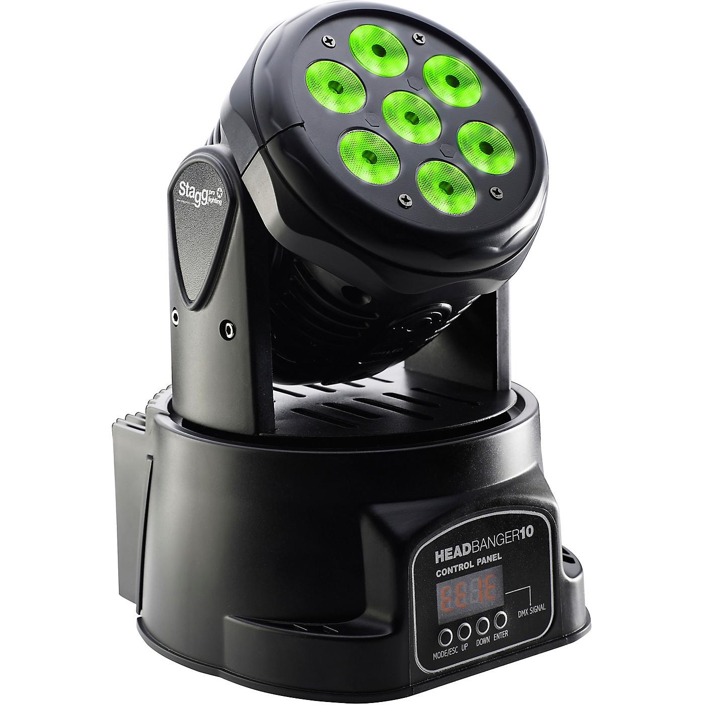 Stagg HeadBanger 10 Moving-Head RGBW LED Wash Light thumbnail