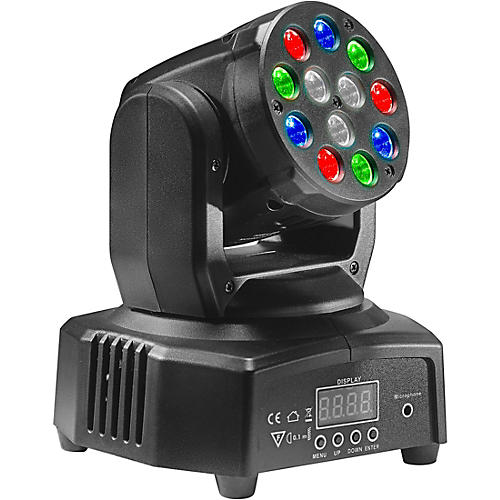 Stagg HeadBanger 6 RGB LED Moving-Head Spotlight thumbnail