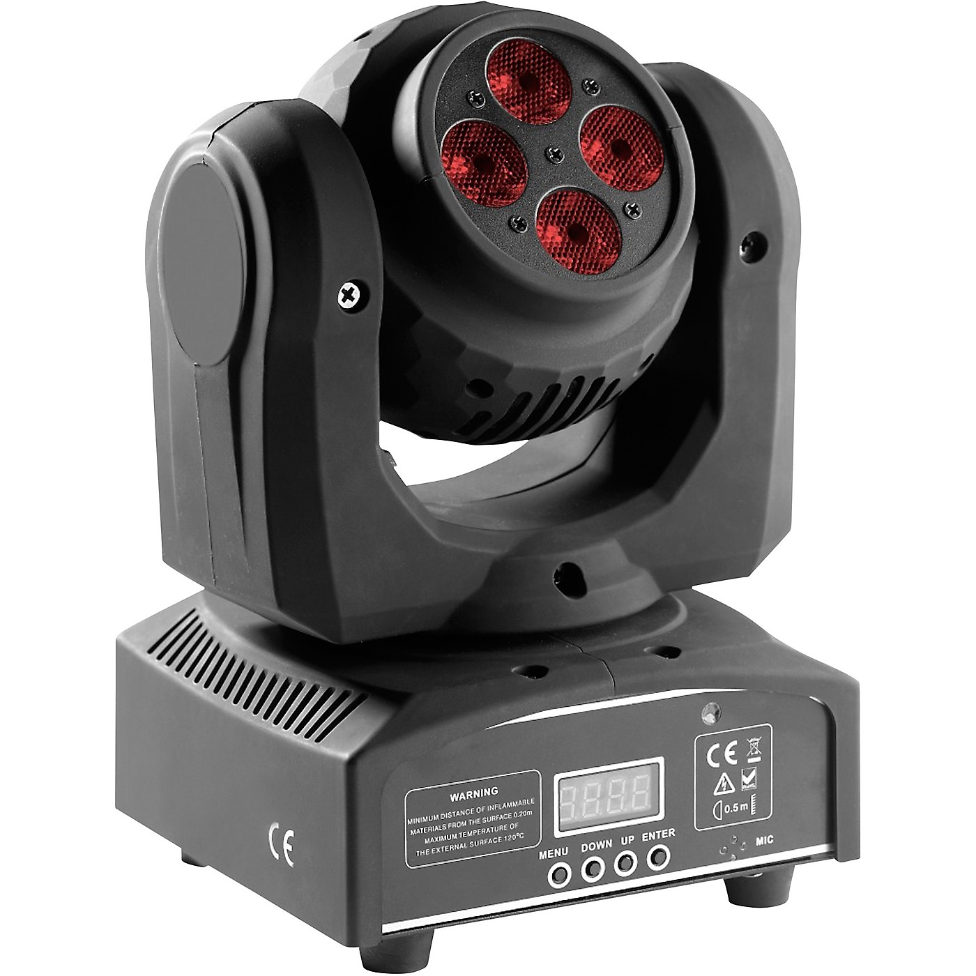 Stagg HeadBanger Spin Double-Sided RGBW LED Moving-Head Light thumbnail
