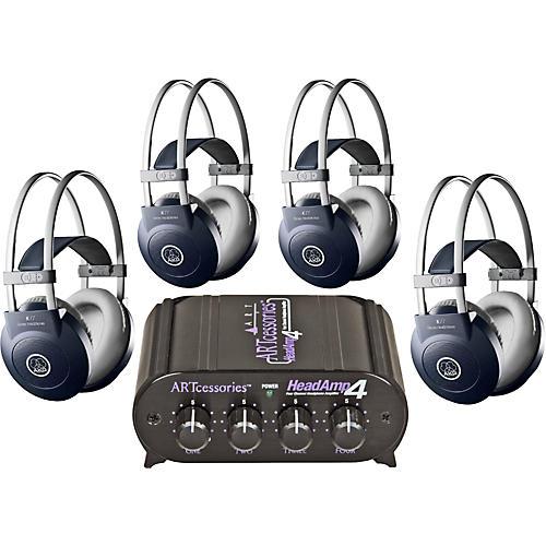 AKG Headamp 4/K77 Headphone Four Pack thumbnail