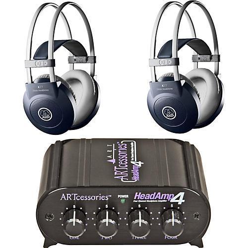 AKG Headamp 4/K77 Headphone Two Pack thumbnail