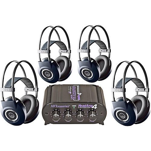 AKG Headamp 4/K99 Headphone Four Pack thumbnail