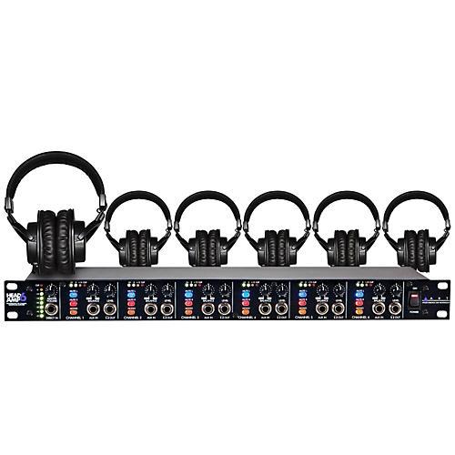 ART Headamp6 Tascam TH-200X 6 Headphone Package thumbnail