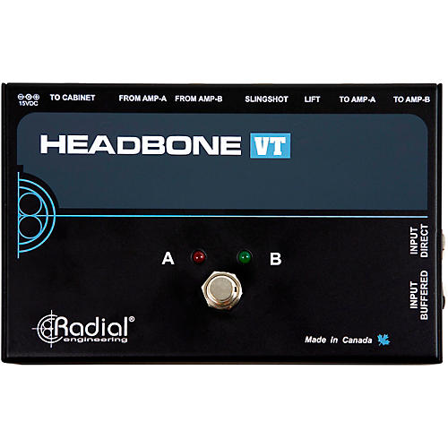 Radial Engineering Headbone VT Amp Head Switcher for Tube Amps thumbnail