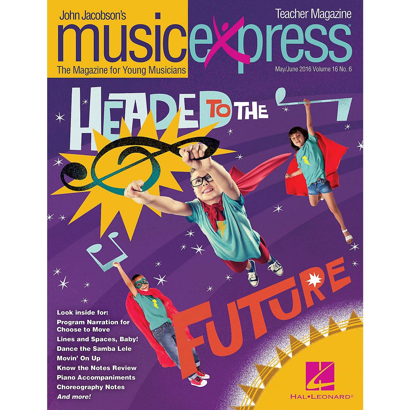 Hal Leonard Headed to the Future Vol. 16 No. 6 Teacher Magazine w/CD by Rachel Platten Arranged by Emily Crocker thumbnail