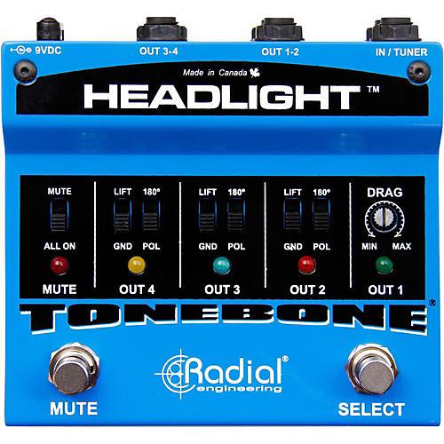 Radial Engineering Headlight Guitar Amp Selector Pedal thumbnail