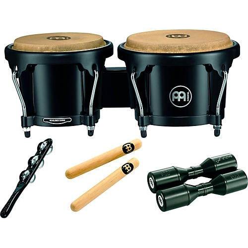 Meinl Headliner Bongo Percussion Pack with Free Shaker and Claves thumbnail