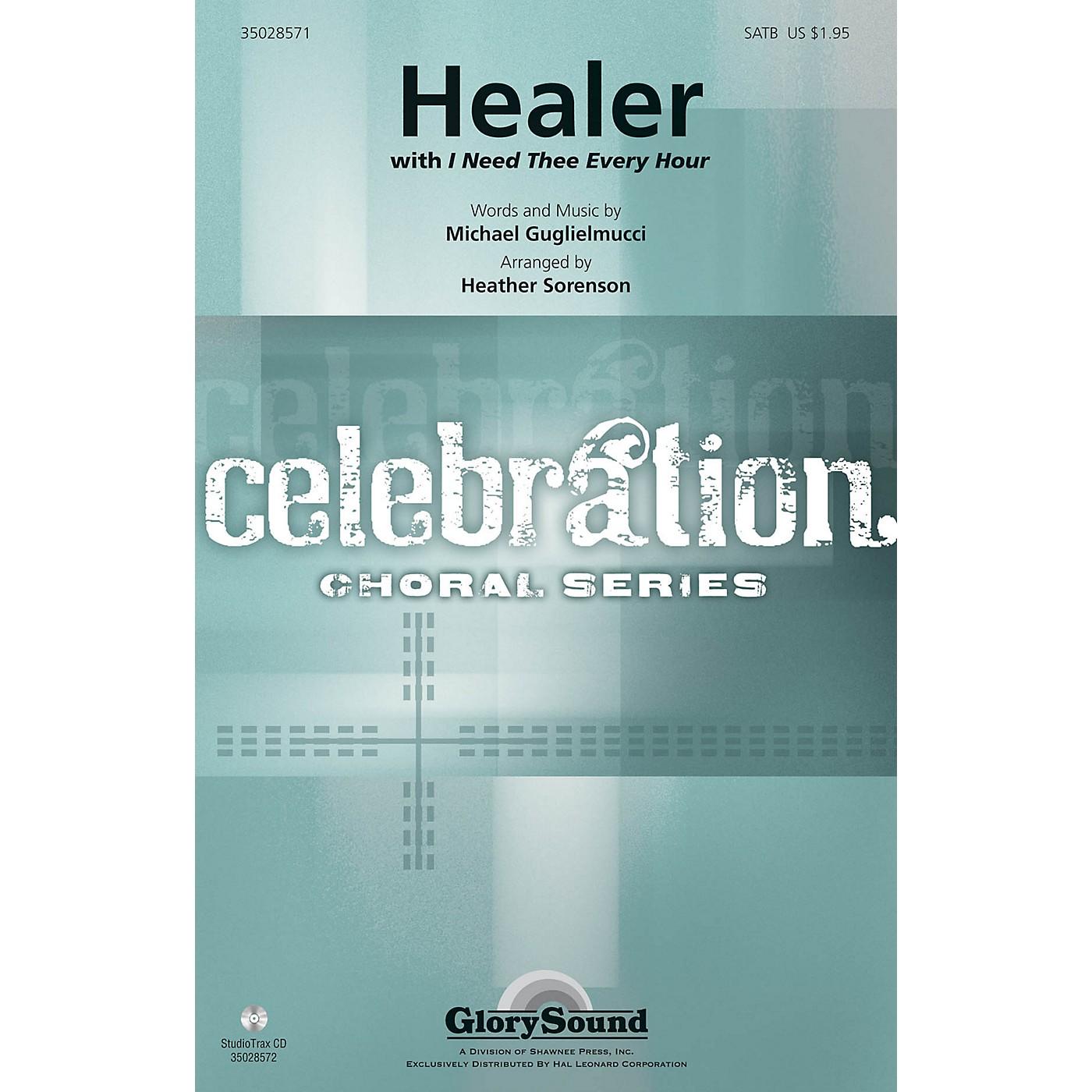 Shawnee Press Healer (Incorporating I Need Thee Every Hour) Studiotrax CD Arranged by Heather Sorenson thumbnail