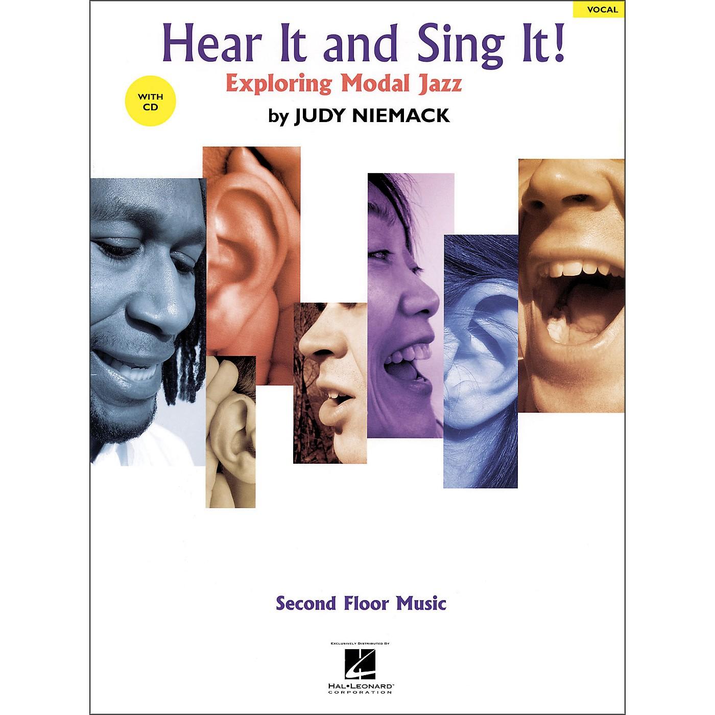 Hal Leonard Hear It And Sing It! Exploring Modal Jazz Book/CD thumbnail