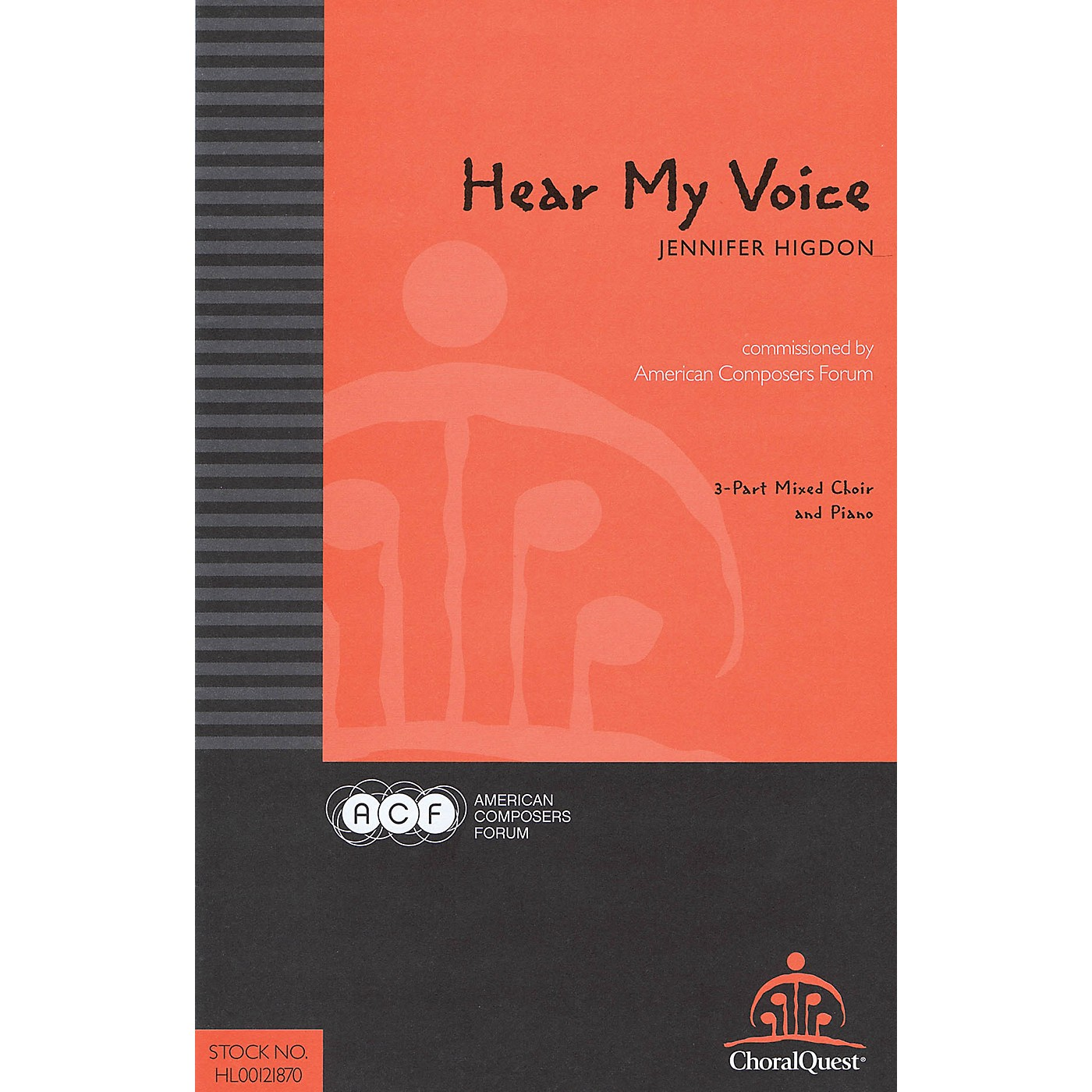 American Composers Forum Hear My Voice (Commissioned by American Composers Forum) 3-Part Mixed composed by Jennifer Higdon thumbnail