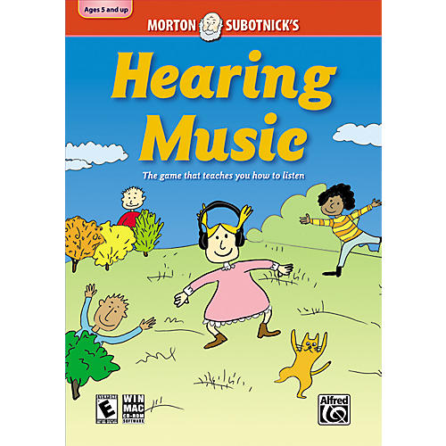 Alfred Hearing Music: CD-ROM By Morton Subotnick thumbnail