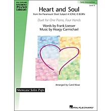 Hal Leonard Heart And Soul - Showcase Pops Level 4 Duet Hal Leonard Student Piano Library by Carol Klose