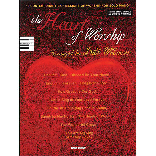 Word Music Heart Of Worship arranged for piano, vocal, and guitar (P/V/G)-thumbnail