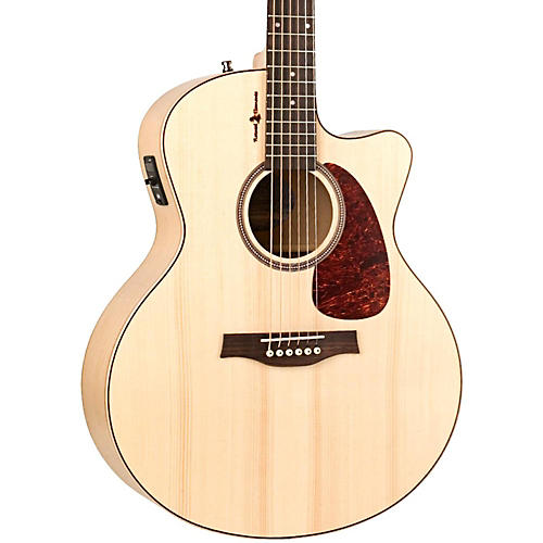 Seagull Heart of Wild Cherry CW Mini Jumbo SG Acoustic-Electric Guitar thumbnail