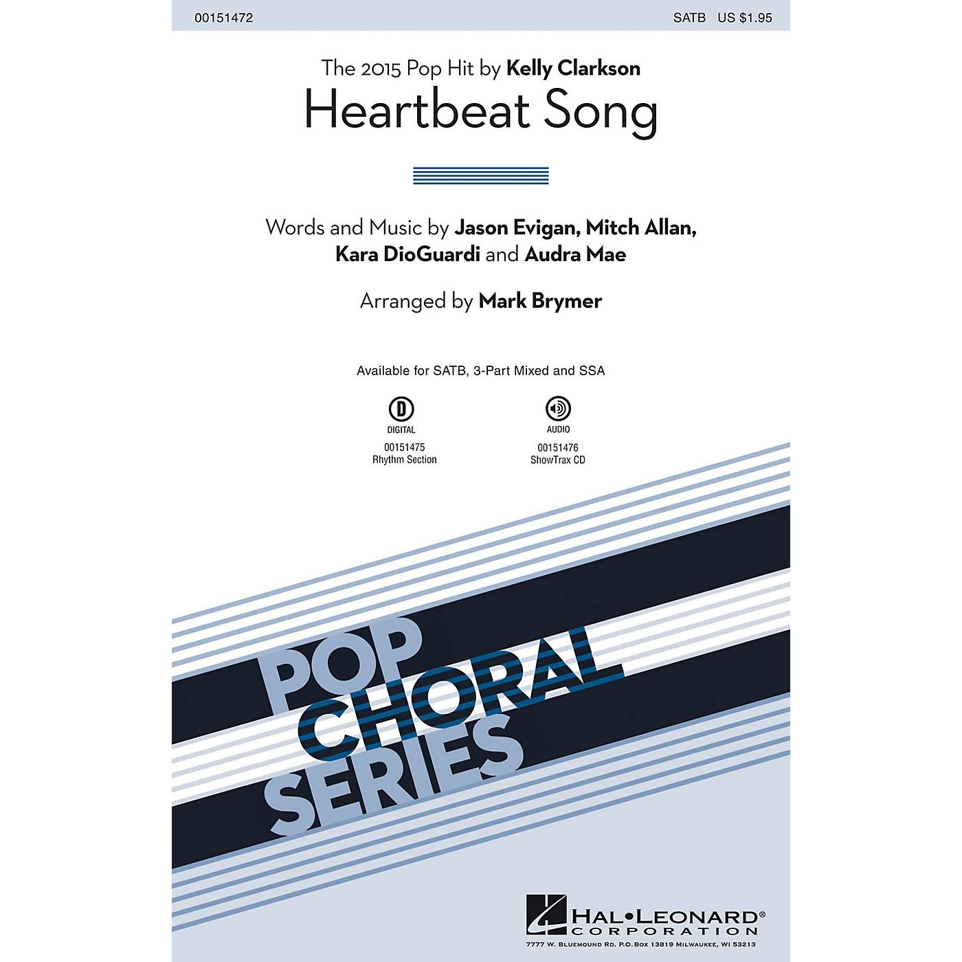 Hal Leonard Heartbeat Song ShowTrax CD by Kelly Clarkson Arranged by Mark Brymer thumbnail