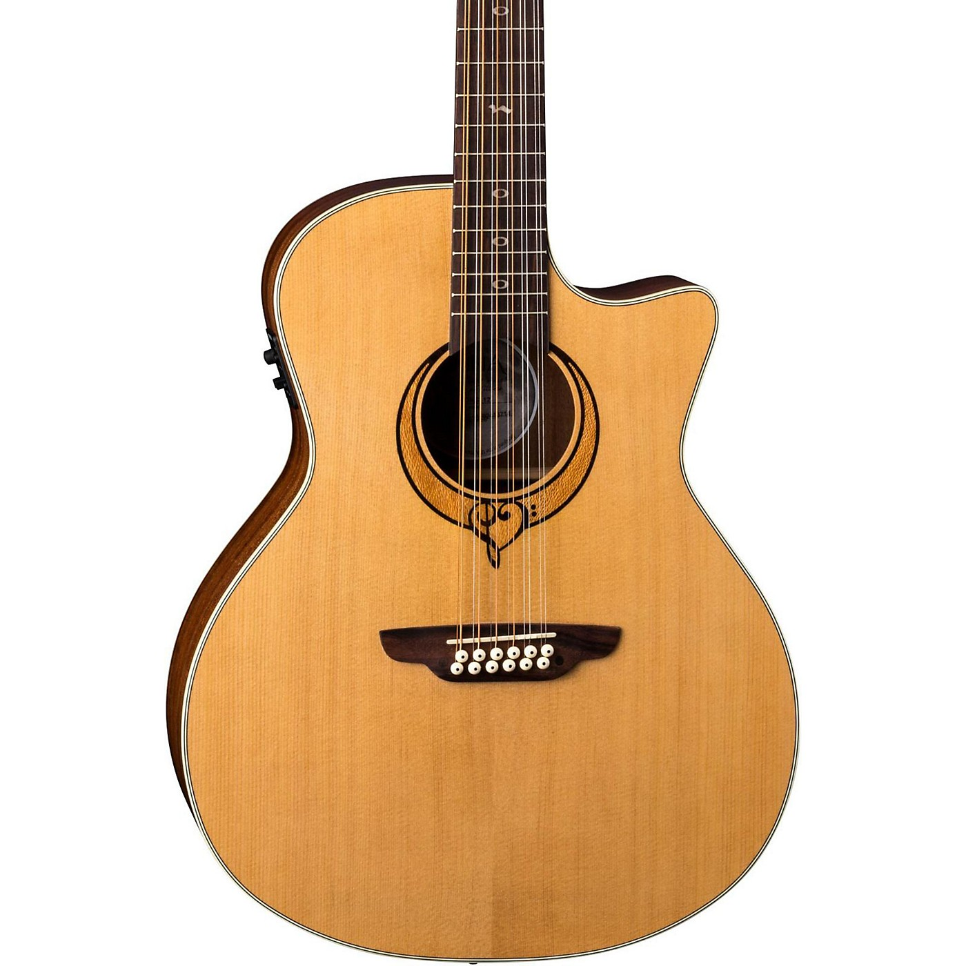 Luna Guitars Heartsong 12 String with USB Acoustic Electric Guitar thumbnail