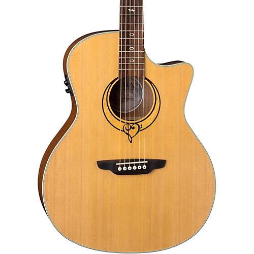 Luna Guitars Heartsong Grand Concert Acoustic-Electric Guitar thumbnail