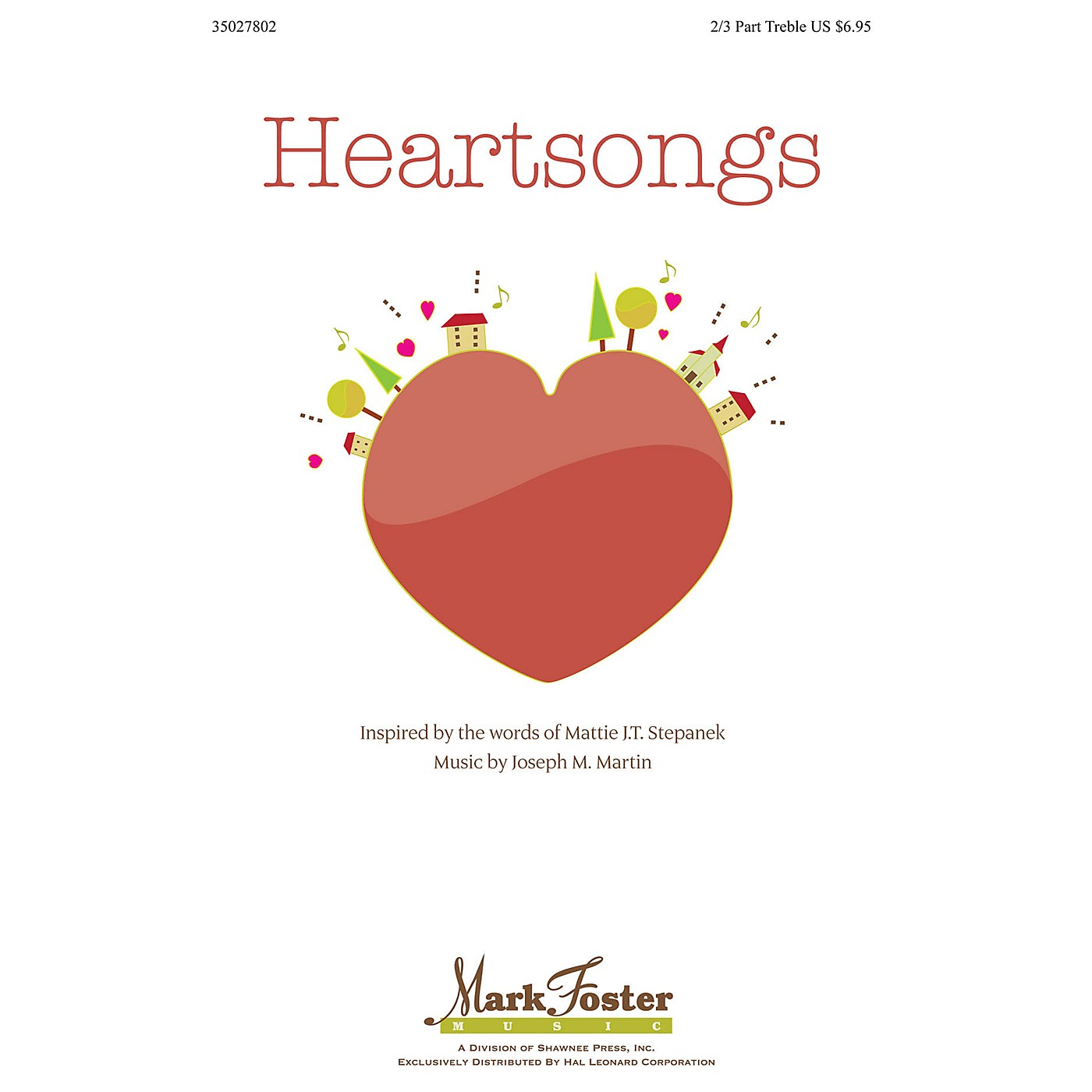 Shawnee Press Heartsongs Studiotrax CD Composed by Joseph Martin thumbnail