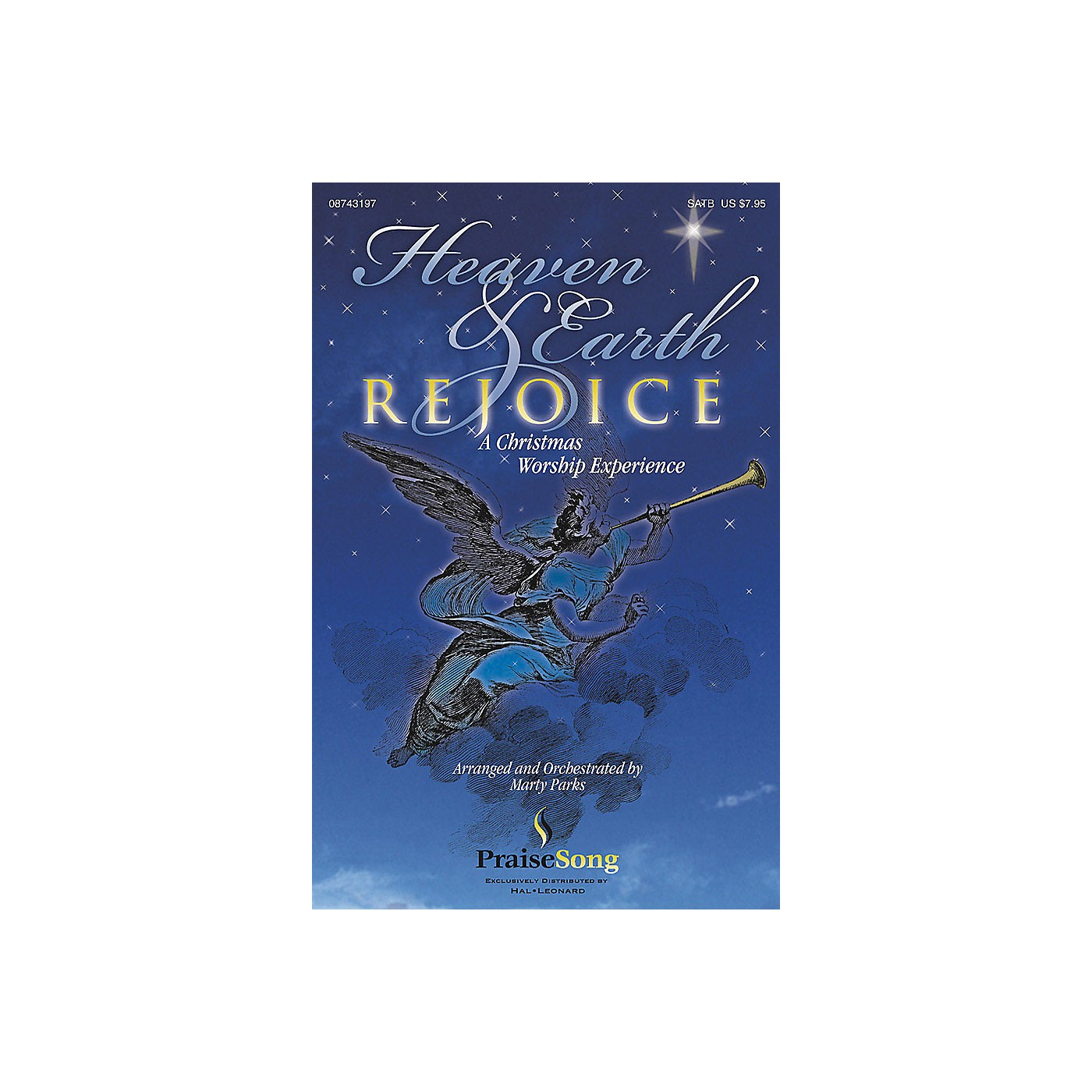PraiseSong Heaven and Earth Rejoice (Sacred Musical) (A Christmas Worship Experience) CHOIRTRAX CD by Marty Parks thumbnail
