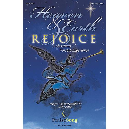 PraiseSong Heaven and Earth Rejoice (Sacred Musical) (Soprano/Alto RehearsalTrax) REHEARSAL TX by Marty Parks thumbnail