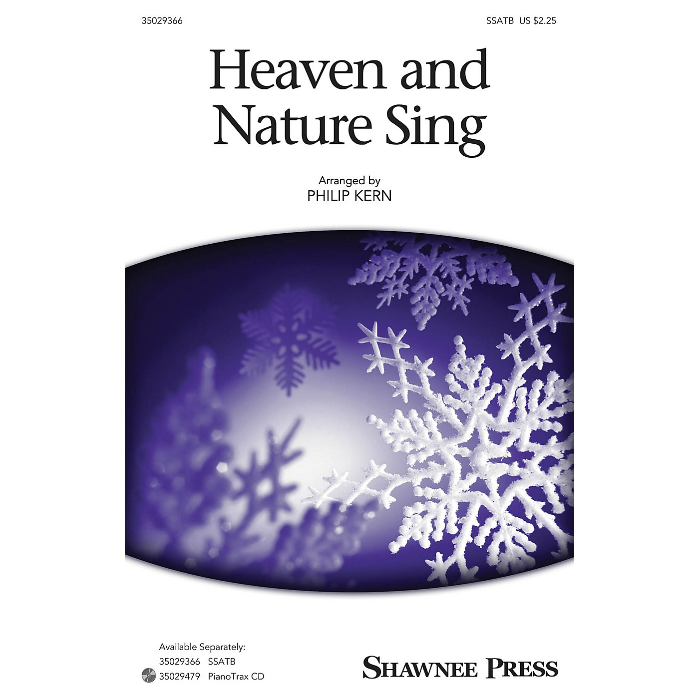 Shawnee Press Heaven and Nature Sing SSATB arranged by Philip Kern thumbnail